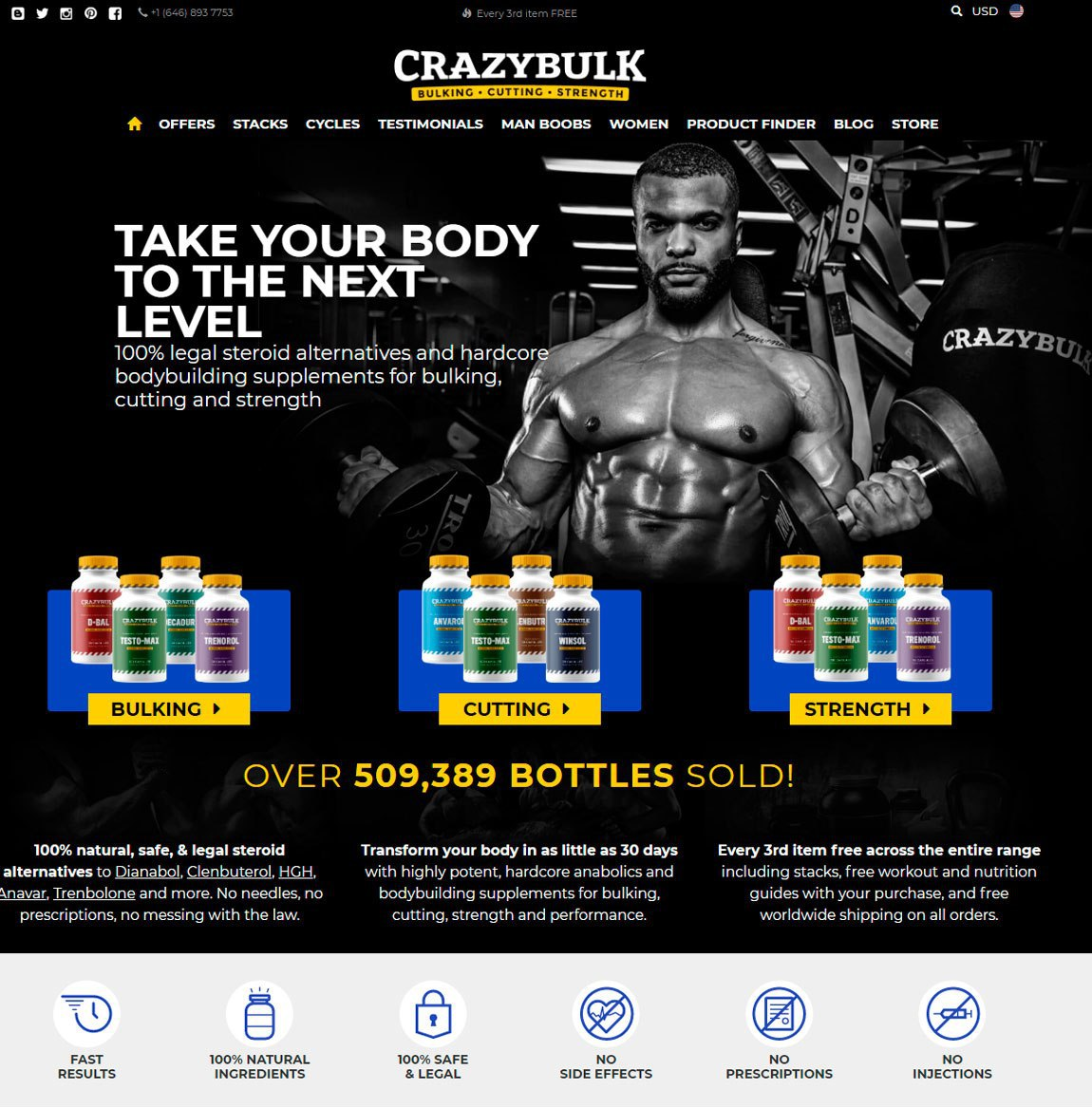 Anabolic research products
