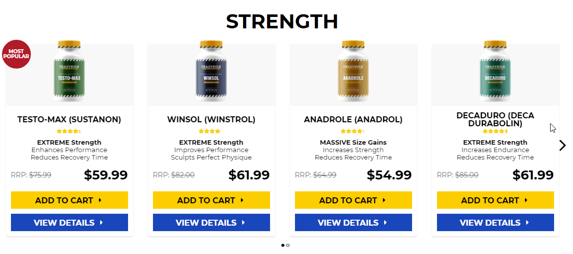 Anabolic steroids for low testosterone